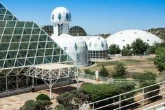 Colonia dello spazio di biosfera 2 immagini stock libere da diritti