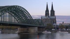 Colonia, Germania, Europa stock footage