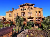 Colonia Guell Royalty Free Stock Photos