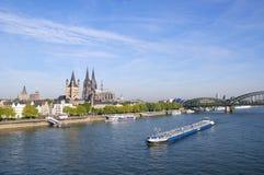Colonia/Köln, Alemania fotografía de archivo libre de regalías