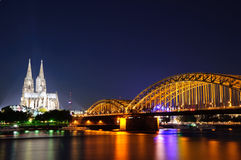 Colonia/Köln, Germania Fotografie Stock