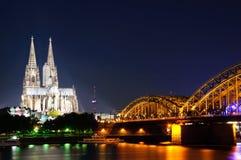 Colonia/Köln, Germania Immagini Stock