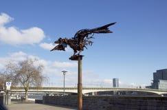 Colonia La passeggiata Uccello del ferro Fotografia Stock
