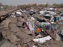 Colonia Mumbai del Washermen Fotografia Stock