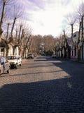 Colonia-Straße stockbilder