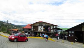 Colonia Tovar` street Royalty Free Stock Image