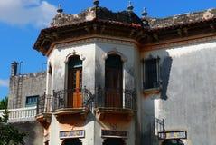 Colonial Мексика дома архитектуры Стоковые Фотографии RF