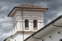 Colonial architectural detail in  Popayan Colombia Royalty Free Stock Photography