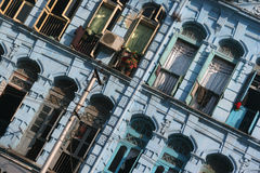 Colonial architecture. In Yangon, Myanmar Royalty Free Stock Photography
