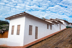 Free Colonial Architecture And Sky Stock Image - 80166971