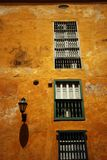Colonial Architecture in Cartagena Royalty Free Stock Photo