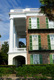 Colonial architecture in Charleston, SC. Colonial house in historic Charleston, SC Stock Photo
