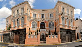 Colonial architecture detail, Quito, capital of Stock Images