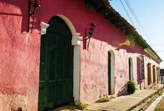 Colonial arcitecture in El Salvador Royalty Free Stock Photography