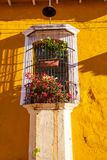 Colonial arcitecture in El Salvador Royalty Free Stock Photos