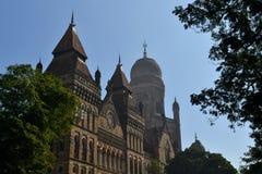 Colonial architecture Elphinstone College, Mumbai Stock Image