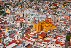 Colonial architecture Guanajuato Mexico Stock Photo