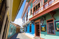 Colonial Architecture in Guayaquil Royalty Free Stock Photography