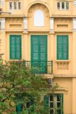 Colonial Architecture of Hanoi, Vietnam Stock Photos
