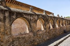 Colonial architecture in Patzcuaro Michoacan Mexico Stock Photos