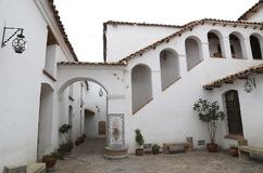Colonial architecture of  the House of Freedom, Sucre Stock Image