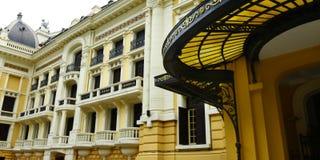 Opera Hanoi Vietnam. Colonial architecture opera Hanoi Vietnam Royalty Free Stock Image