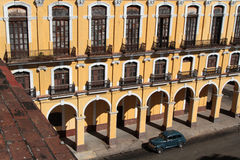 Colonial architecture in a place of Havana Royalty Free Stock Photo