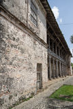 Colonial architecture in Portobelo Royalty Free Stock Photography
