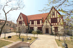 colonial architecture in Qingdao Stock Images