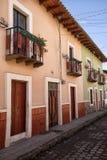 Colonial architecture in San Gabriel, Ecuador Royalty Free Stock Photos