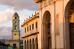 Colonial architecture, Trinidad Stock Photo