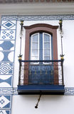 Colonial balcony. Of residence tipical colonial em Paraty City Royalty Free Stock Image