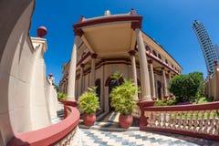 Colonial building. In Cartagena de Indias Royalty Free Stock Images