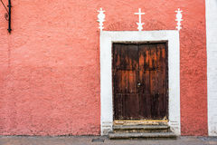 Colonial Building and Door Royalty Free Stock Image