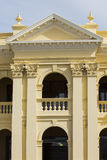 Colonial Building Facade Royalty Free Stock Photography