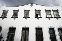 Colonial building facade Popayan Royalty Free Stock Image