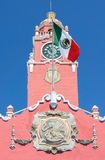 Colonial Building Merida, Mexico Stock Photos