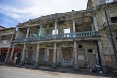 Colonial building ruin in Colon Stock Photo
