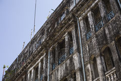 Colonial building in Yangon Royalty Free Stock Image