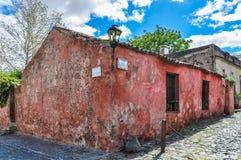 Colonial buildings, Colonia del Sacramento, Uruguay Royalty Free Stock Photos