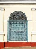 Colonial buildings on Cuba in the Trinidad city Royalty Free Stock Photos