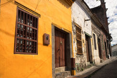 Colonial buildings in Honda Colombia Royalty Free Stock Photos