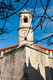 A colonial castle in Old Havana Royalty Free Stock Images