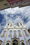 Colonial Church Architecture Pelourinho Salvador Brazil. Colonial church architecture in Pelourinho Salvador da Bahia Brazil of Nossa Senhora do Rosario dos Royalty Free Stock Photography