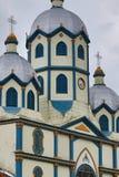 Colonial church closeup Stock Photography