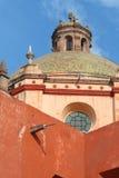 Colonial Church Detail 01. Colonial church detail at Queretaro, Mexico Royalty Free Stock Photo