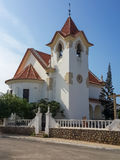Colonial church in Lobito. Situated on the peninsula of this coastal town Royalty Free Stock Photography