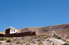 Colonial Church - Machuca - Chile Stock Image