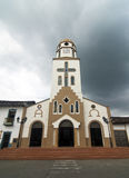 Colonial Church in Salento, Colombia Stock Photography