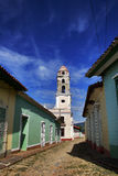 Colonial church in Trinidad Stock Photos